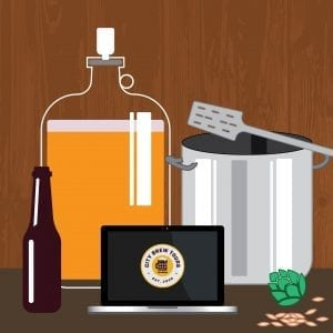 how to brew illustration