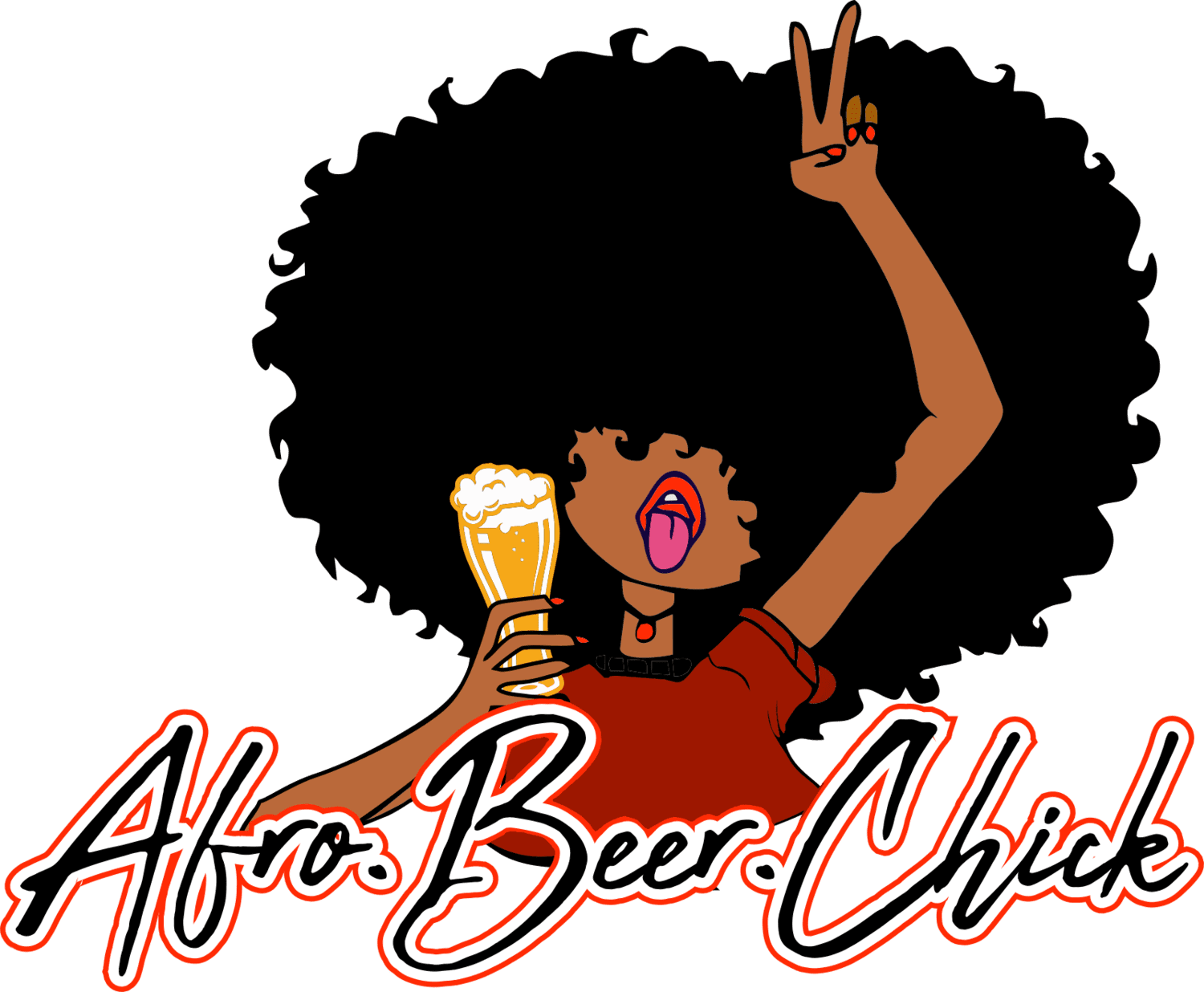 This chick talks beer logo