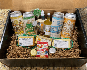 Spring Fling Box with Optional St. Paddy's Party Pack
